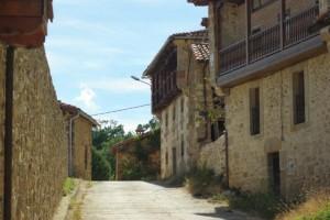 Población de Arreba, donde se ubica casa rural Caléndula, cerca de Orbaneja del Castillo