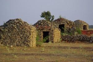 Casas de aperos de Orbaneja
