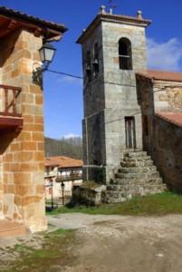 Población de Arreba, donde se ubica casa rural Caléndula, cerca de Orbaneja del Castillo y los cañones del Ebro