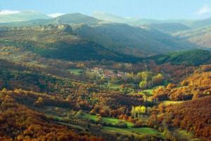 Nuestro valle, cerca de Orbaneja del Castillo y los cañones del Ebro